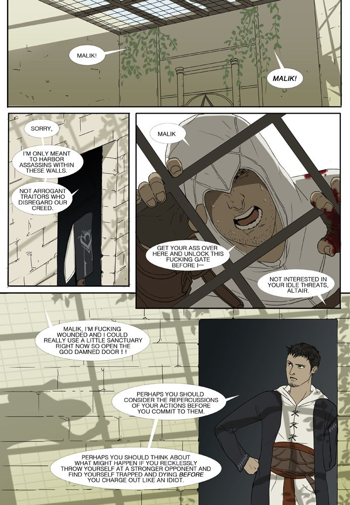 """""""Serves You Right"""" comic (Page 4 of 9) by doubleleaf on DeviantArt.com."""