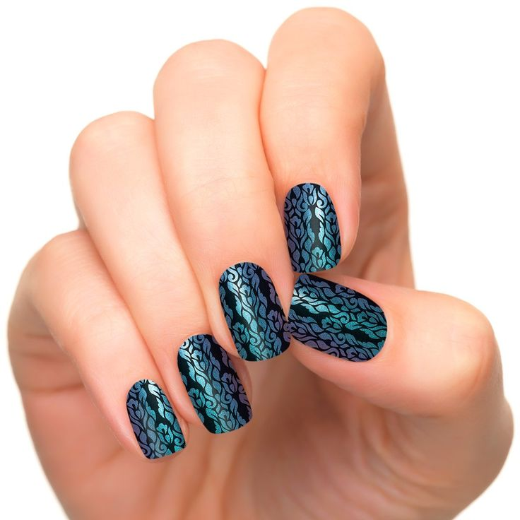 Incoco Duochrome Nail Polish Strips, Nail Art, Opulence *** Visit the image link more details.