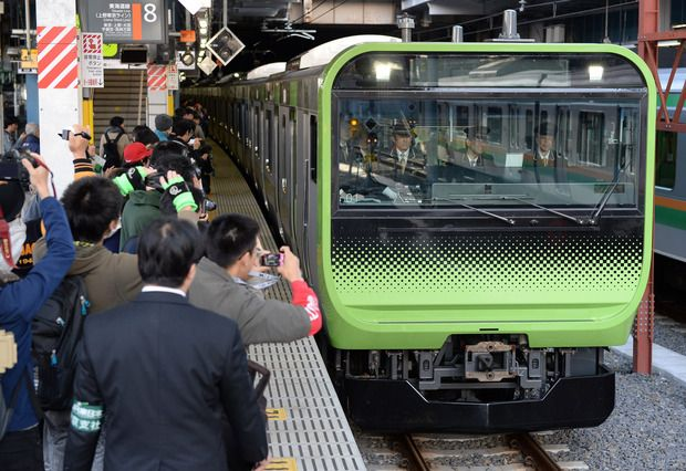 Tokyo: new commuter train delayed 40 minutes, makes national news headlines.