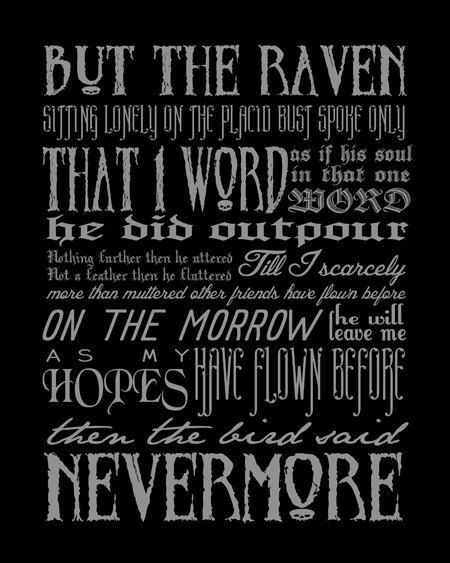 a literary analysis of the poem the raven by edgar allen poe Who was edgar allan poe he was an orphan with a troubled childhood who became america's first great lyric poet, the inventor of the modern detective story, a pioneer of science fiction, and the master of the macabre over the course of just forty years, poe.