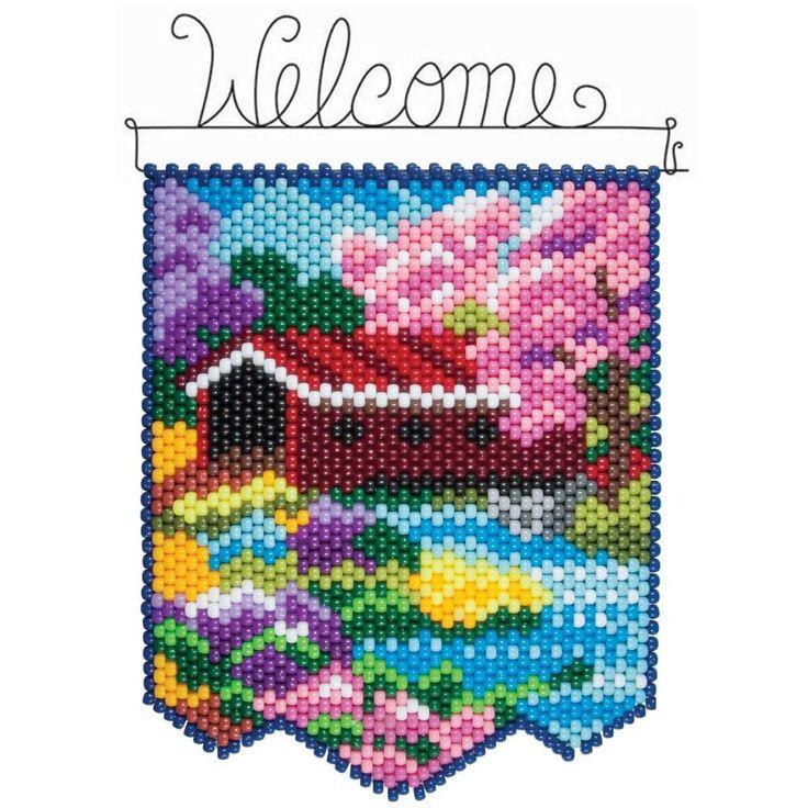 Herrschners® Spring Bridge Beaded Banner Kit