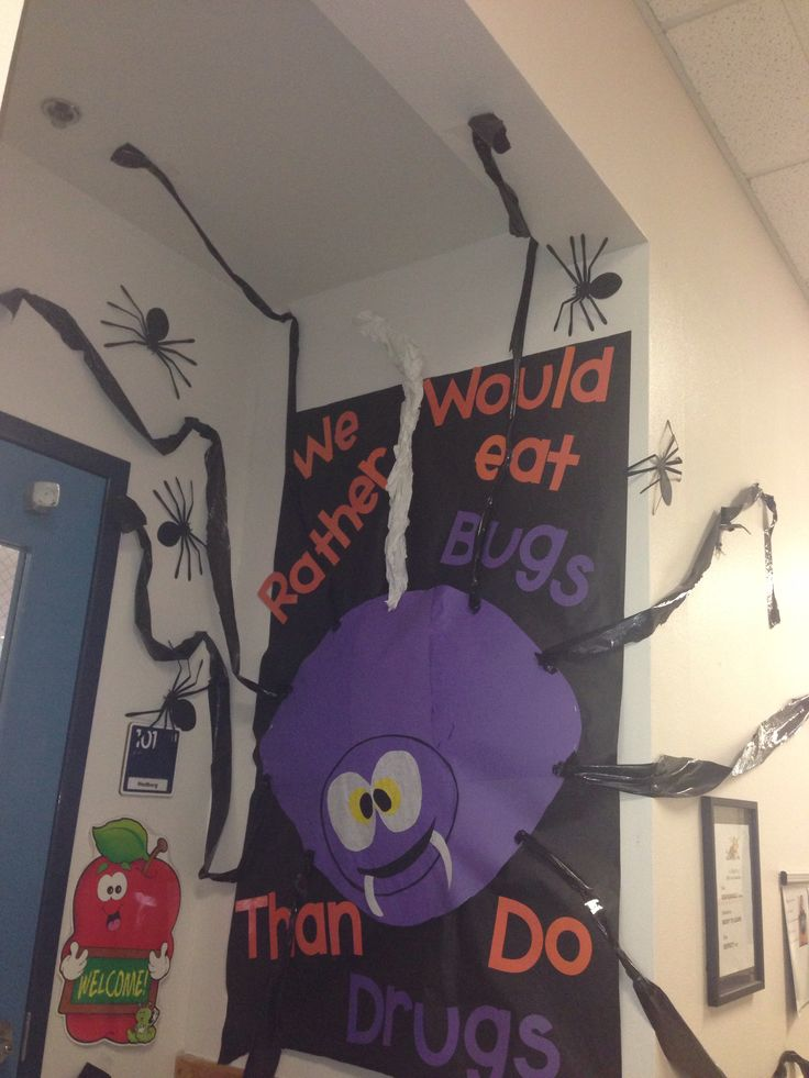 Printable Halloween Classroom Decorations ~ Ideas about drug free on pinterest red ribbon week