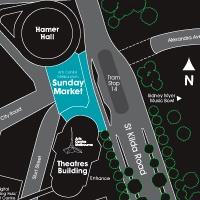 Arts Centre Melbourne Sunday Market