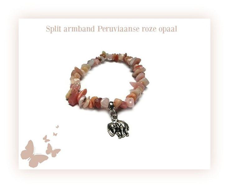 Peruviaanse Roze Opaal www.beadscreations.nl