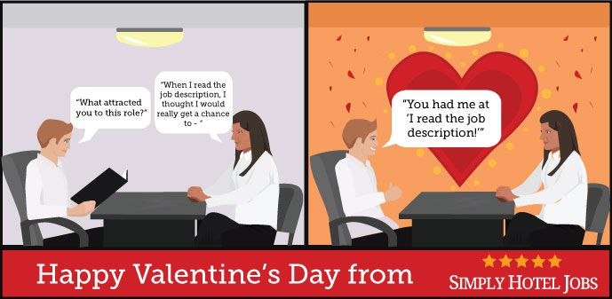 """Happy Valentine's Day to every job hunter and employer out there - here's hoping you find your """"one""""! <3"""