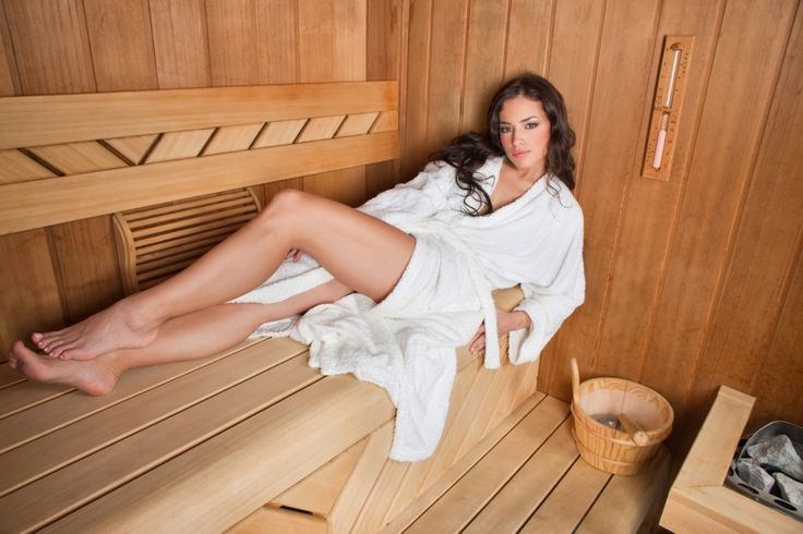 Just relax in sauna