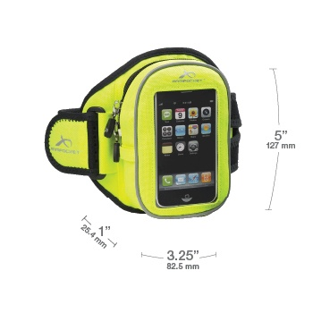 Fluorescent Yellow: Arm Pockets, Fluorescent Yellow, I 20 Armband, Accessories Armpocket Sports, Cell Phones Accessories, Credit Cards, Workout Accessories, Bright Yellow, Armpocket Sports I 20