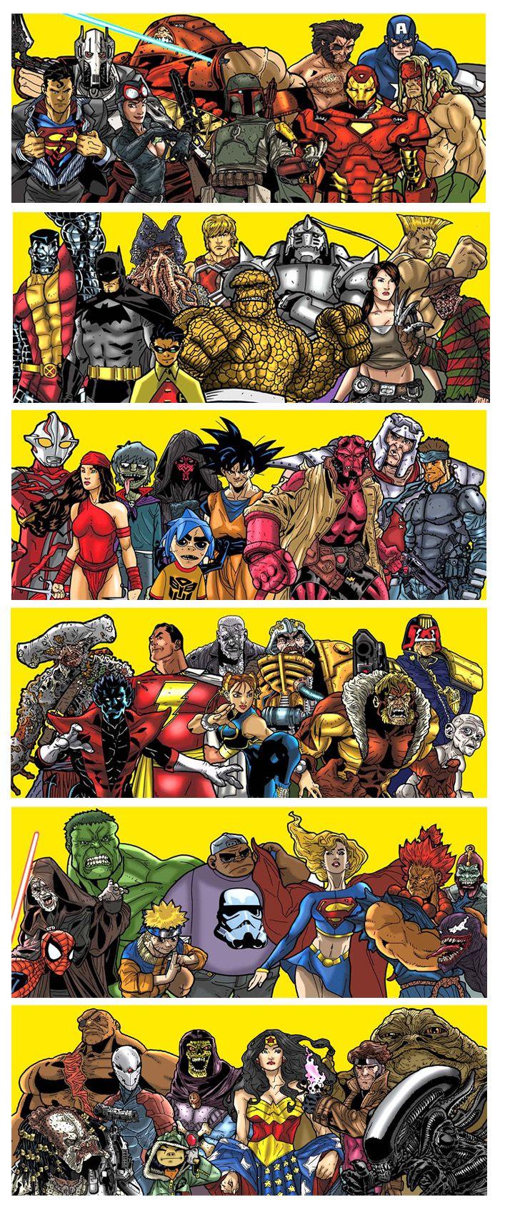 Парна комиксы