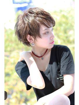 【Euphoria】おしゃクールなショート★ - 24時間いつでもWEB予約OK!ヘアスタイル10万点以上掲載!お気に入りの髪型、人気のヘアスタイルを探すならKirei Style[キレイスタイル]で。