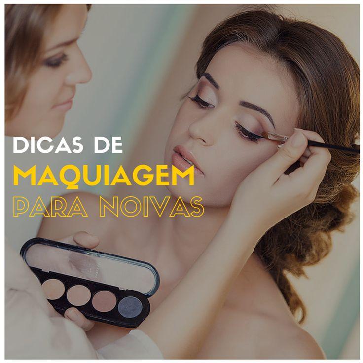 Dicas de Maquiagem para Noivas - http://webfeminina.com/dicas-de-maquiagem-para-noivas/