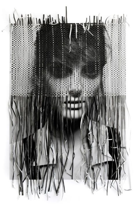 continuing on with the paper as fiber theme ... UPDATE: The photographer is Michelangelo di Battista and the paper weaving is by Jennifer Berning: Hat tip: FFFFOUND!