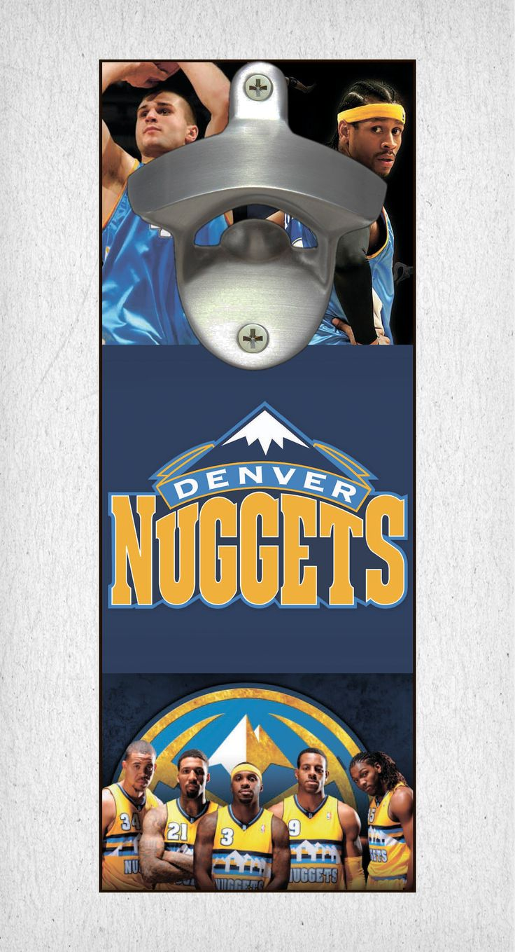 This Denver Nuggets bottle opener can be a great gift to any sports fan. It's the perfect addition to any man cave, bar area, kitchen, or to just put out while watching the big game. It is also a great groomsmen gift. Denver Nuggets Wall Mount Bottle Opener Denver Nuggets Cap Catcher Denver Nuggets Wall Opener Denver Nuggets Beer Opener Denver Nuggets Wall Art Denver Nuggets Craft Denver Nuggets Decor Denver Nuggets Gift Denver Nuggets Diy Denver Nuggets Art