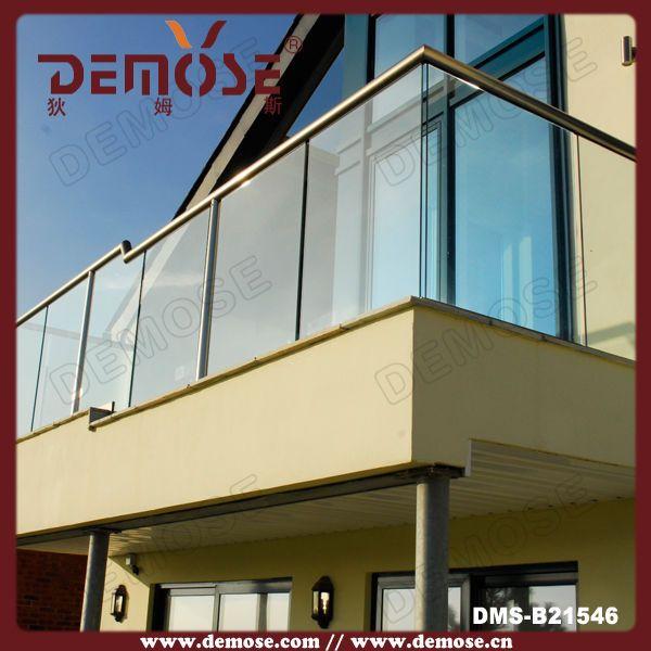Delightful Frameless Glass Balcony Railing Price