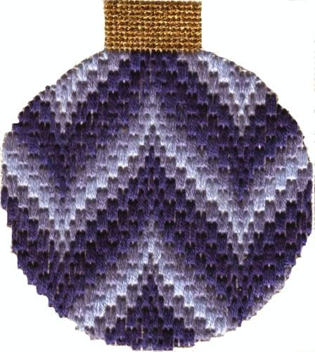 from the 2011 Bargello Club. Image & project copyright Napa Needlepoint. I used to do needlepoint often -- Bargello was one of my favorite forms.