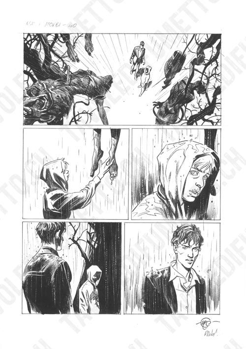 Dylan Dog - Mater Morbi, pag.40 Comic Art