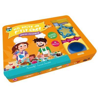Ma boîte de P'tit Chef : Spécial Pâtisserie Editions Auzou - Magasin de Jouets pour Enfants
