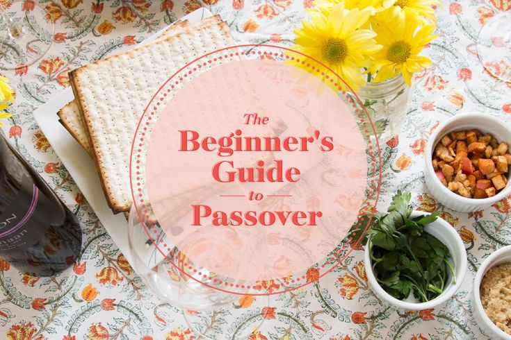 Here's everything you need to know to have a chag sameach.
