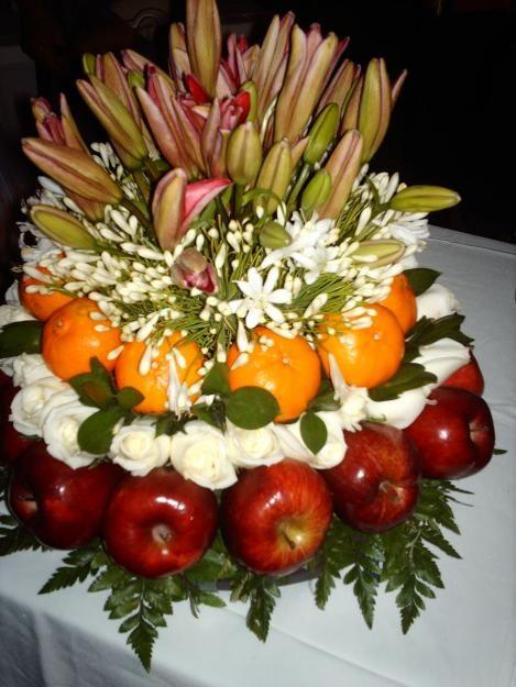 25 best ideas about arreglos de flores on pinterest - Frutas artificiales para decoracion ...