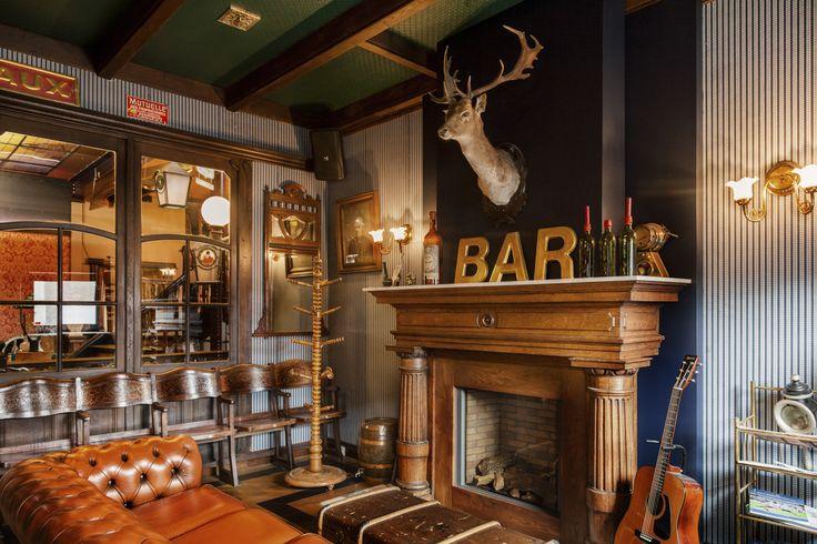 Grand Café Interior By Sijf & Dax van Zuilen Architectural Antiques