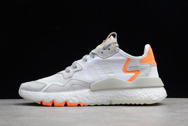 adidas Nite Jogger 2019 WhiteGrey Orange CG5952 | Adidas