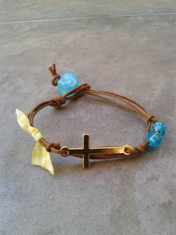 Handmade Bracelet martirika Orthodox baptism by CraftStories