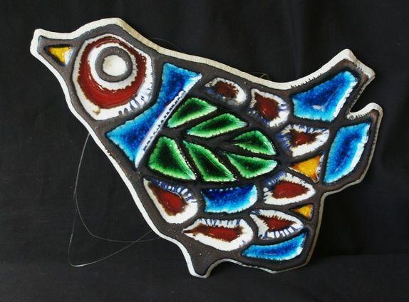Porsgrund Porselen- Konrad Galaaen- Stor fugl