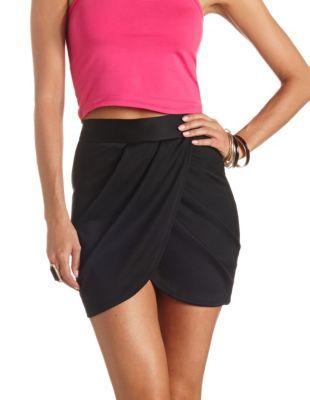 pleated tulip mini skirt skirts minis