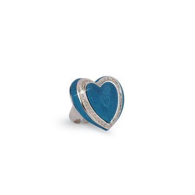 Byblos Jewels Anello Temptation blu #anelli #byblos jewels