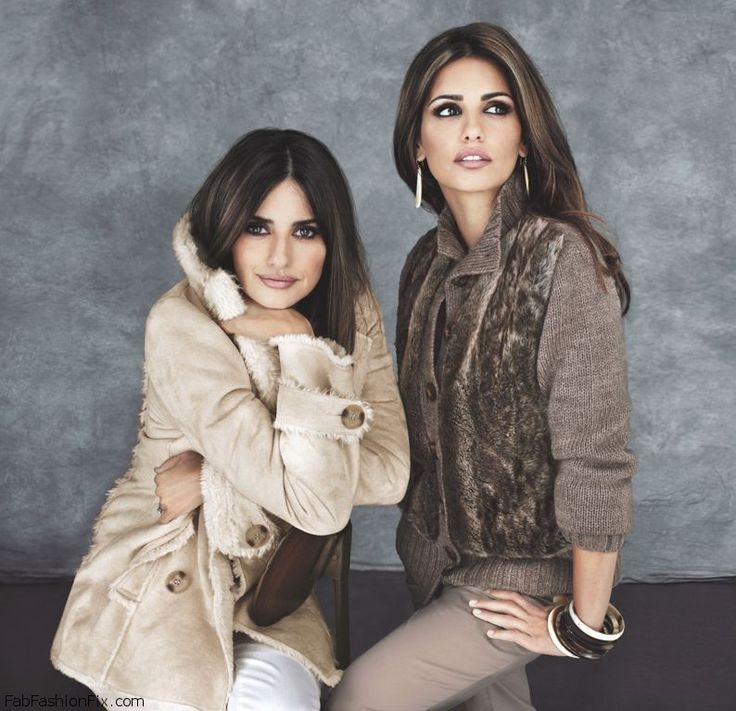 Penelope and Monica Cruz smokey eyes look
