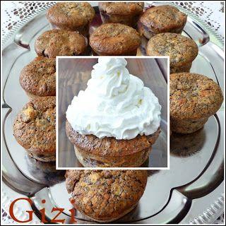 Gizi-receptjei. Várok mindenkit.: Cseresznyés-mákos muffin