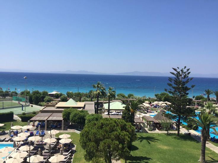 Sheraton hotel. Ixia, Rhodes. Greece