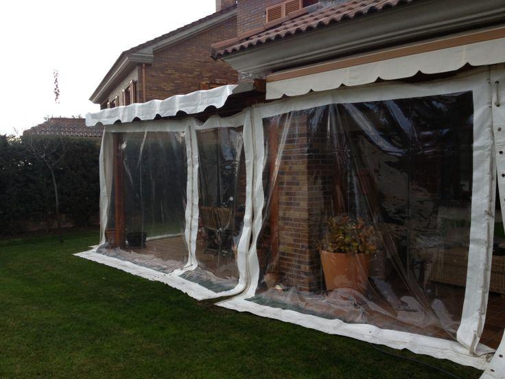 M s de 1000 ideas sobre lona transparente en pinterest - Cerramientos plasticos ...