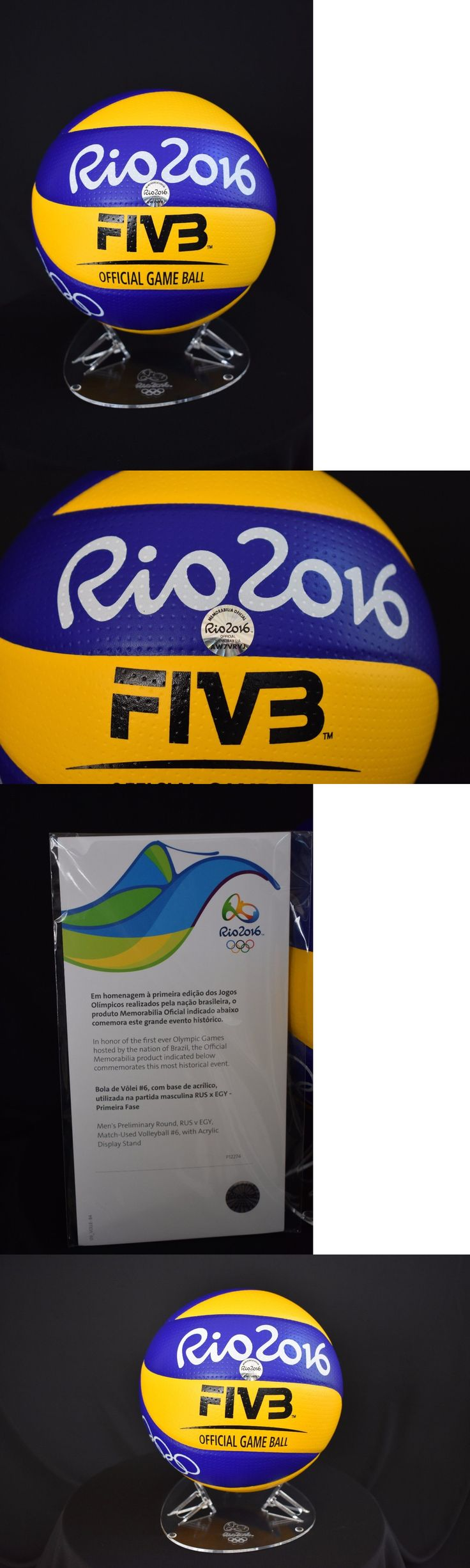 Olympics 27291: Rio 2016 Olympics Game Used Volleyball Team Russia V. Egypt Coa And Hologram! -> BUY IT NOW ONLY: $250 on eBay!