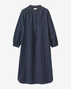 Emma Wide Stripe Shirt Dress