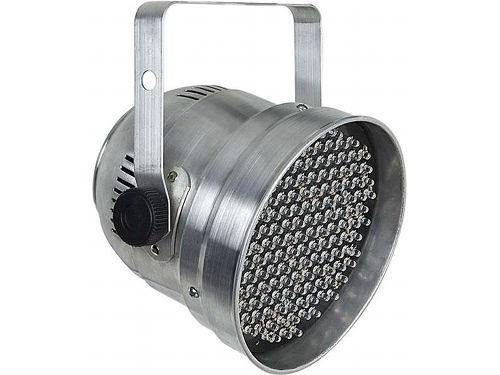 Canhão PAR 56 Refletor de LED RGB DMX Áudio-Rítmico Bivolt: 139 LEDs RGB 10mm, 6 canais DMX, automático, sensor áudio-rítmico, chave DIP, alça de fixação. R$ 179 em http://www.aririu.com.br/canhao-par-56-refletor-de-led-rgb-dmx-audioritmico-bivolt_158xJM