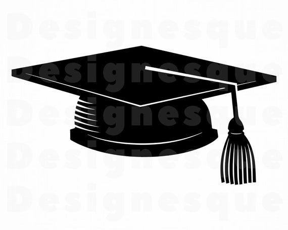 Graduation Cap 2 Svg Graduation Svg Graduation Cap Clipart Etsy Graduation Cap Clipart Svg Clip Art