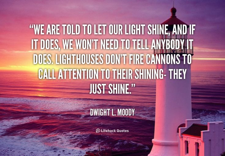 Lighthouses Don't Fire Cannons To Call Attention To Their