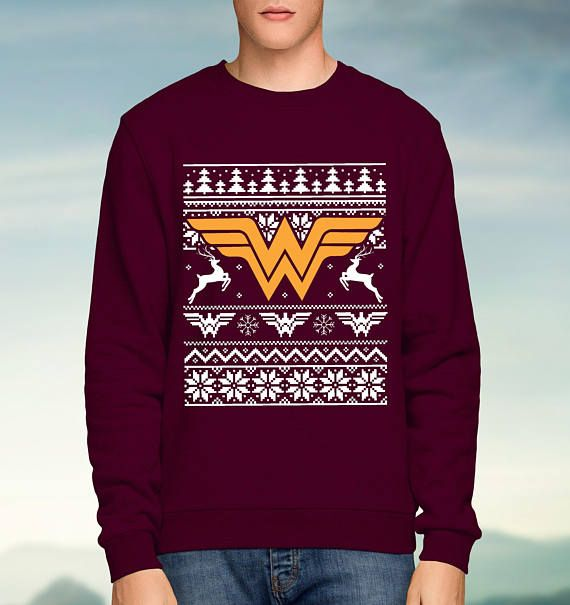 Hey, I found this really awesome Etsy listing at https://www.etsy.com/uk/listing/545230054/dc-wonder-woman-red-christmas-jumper