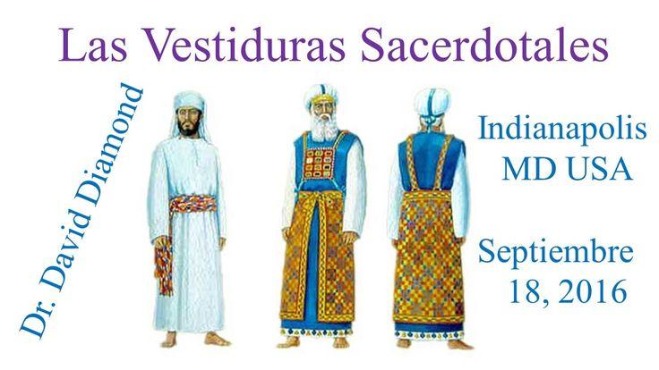 Dr. David Diamond Las Vestiduras Sacerdotales en Indianapolis MD USA Par...