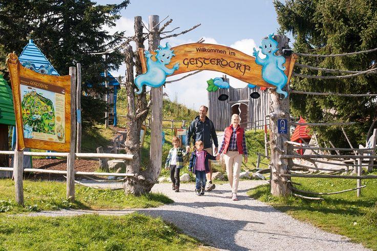 Der Geisterberg verspricht Spaß, Spiel und Bergerlebnis für die ganze Familie. Mit der Alpendorf Gondelbahn in Sankt Johann geht es den Geisterberg.