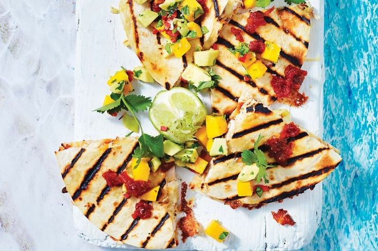 Barbecued chicken gets a gourmet makeover in this feisty quesadilla recipe.