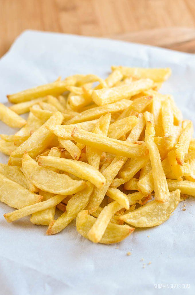 How to make perfect Slimming World Syn Free Chip Shop Chips in your own home to be enjoyed with a variety of sides including My Low Syn Fish recipe - yum!