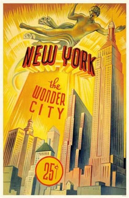 New York - The Wonder City!