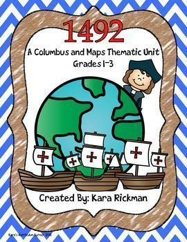 If you LOVE teaching units cross curricular, then this product is for you! In this packet students will learn about maps, continents,…