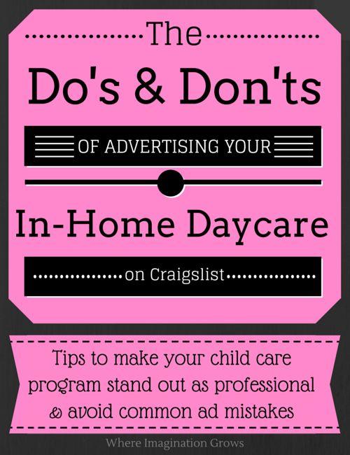 67 best images about Child Care Marketing & Management on Pinterest