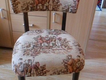 Prodám širokou židli v novém čalounění, koukněte