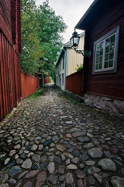 Old city of Linköping, Sweden ~ Where my ancestors are from.