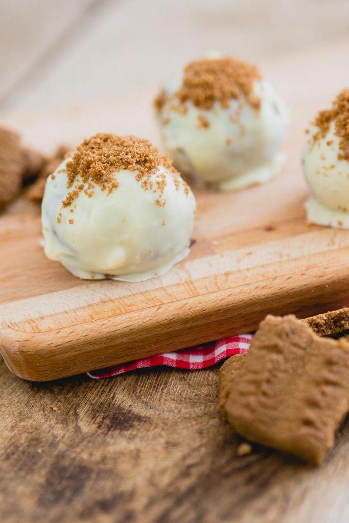 Bastogne truffels met witte chocolade