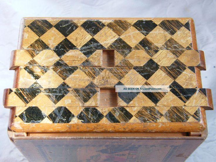 Wooden Japanese Wood Puzzle Box Pdf Plans Puzzle Boxes