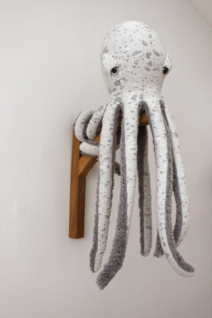 A giant cuddly octopus - just what my life's been missing! from The Big Stuffed #abitofacharacter